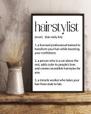 Hairstylist Definitions 11x17 Poster lifestyle-poster-3