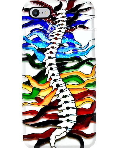 Chiropractor Colorful Spine