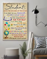 Teacher Notice To All Students 11x17 Poster lifestyle-poster-1