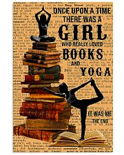 Yoga - I Love Books And Yoga 11x17 Poster front