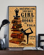 Yoga - I Love Books And Yoga 11x17 Poster lifestyle-poster-2
