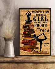 Yoga - I Love Books And Yoga 11x17 Poster lifestyle-poster-3