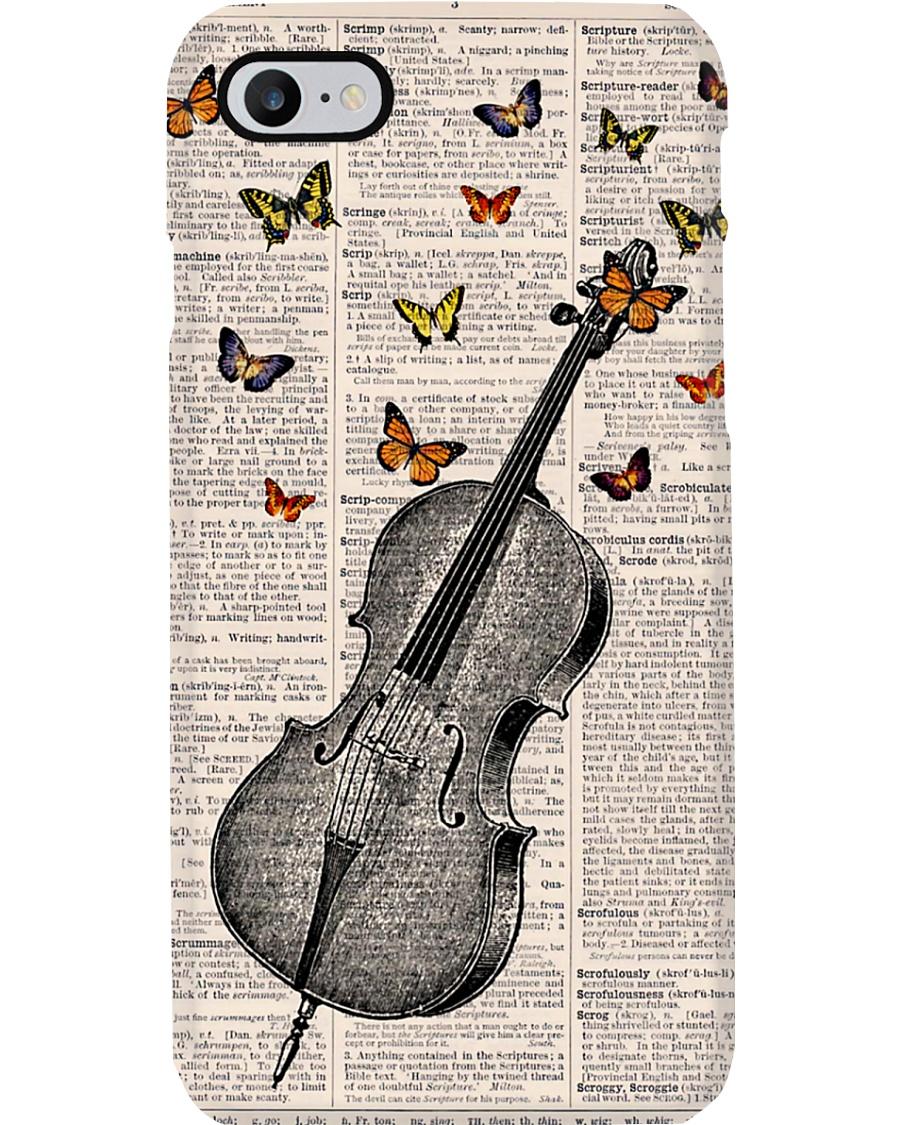 Cello Butterflies Phone Case