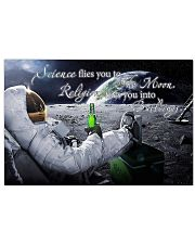 Science flies you to the moon 17x11 Poster front