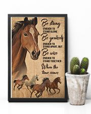 Horse Girl Be strong 11x17 Poster lifestyle-poster-8
