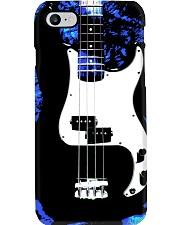 Art Blue Bass Guitar Phone Case i-phone-7-case