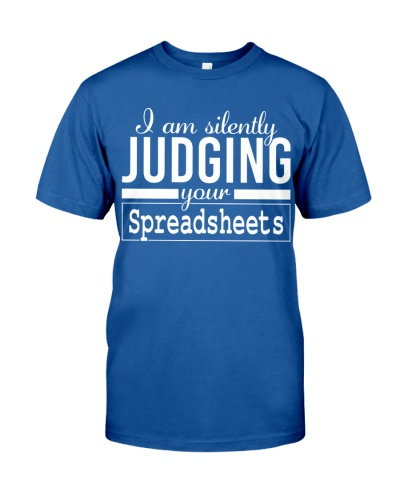 Accountant - I'm silently judging your spreadsheet