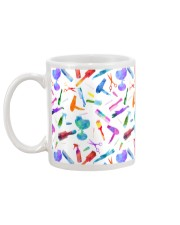 Hairdresser Colorful Icons Mug back