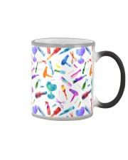 Hairdresser Colorful Icons Color Changing Mug thumbnail