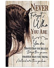 Horse Girl Never Forget Who You Are 11x17 Poster front