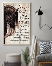 Horse Girl Never Forget Who You Are 11x17 Poster lifestyle-poster-1