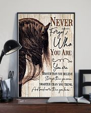 Horse Girl Never Forget Who You Are 11x17 Poster lifestyle-poster-2