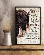 Horse Girl Never Forget Who You Are 11x17 Poster lifestyle-poster-3
