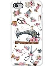 Beautiful Floral Sewing Machine Phone Case i-phone-7-case