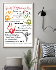 Chiropractor - Advantages Of Chiropractic Care 11x17 Poster lifestyle-poster-1