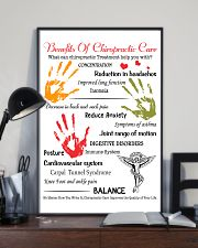 Chiropractor - Advantages Of Chiropractic Care 11x17 Poster lifestyle-poster-2