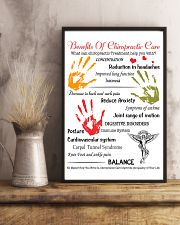 Chiropractor - Advantages Of Chiropractic Care 11x17 Poster lifestyle-poster-3