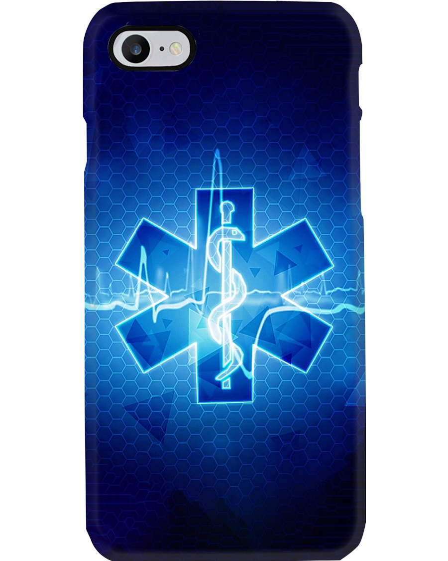 Paramedic Logo Heartbeat Phone Case