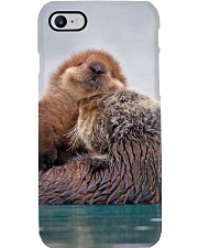 Hugging Otters Poster Phone Case thumbnail