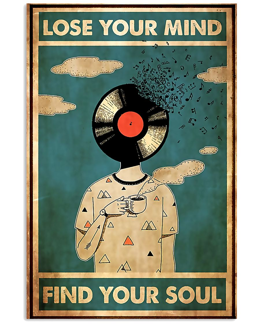 DJ Lose Your Mind Find Your Soul 11x17 Poster