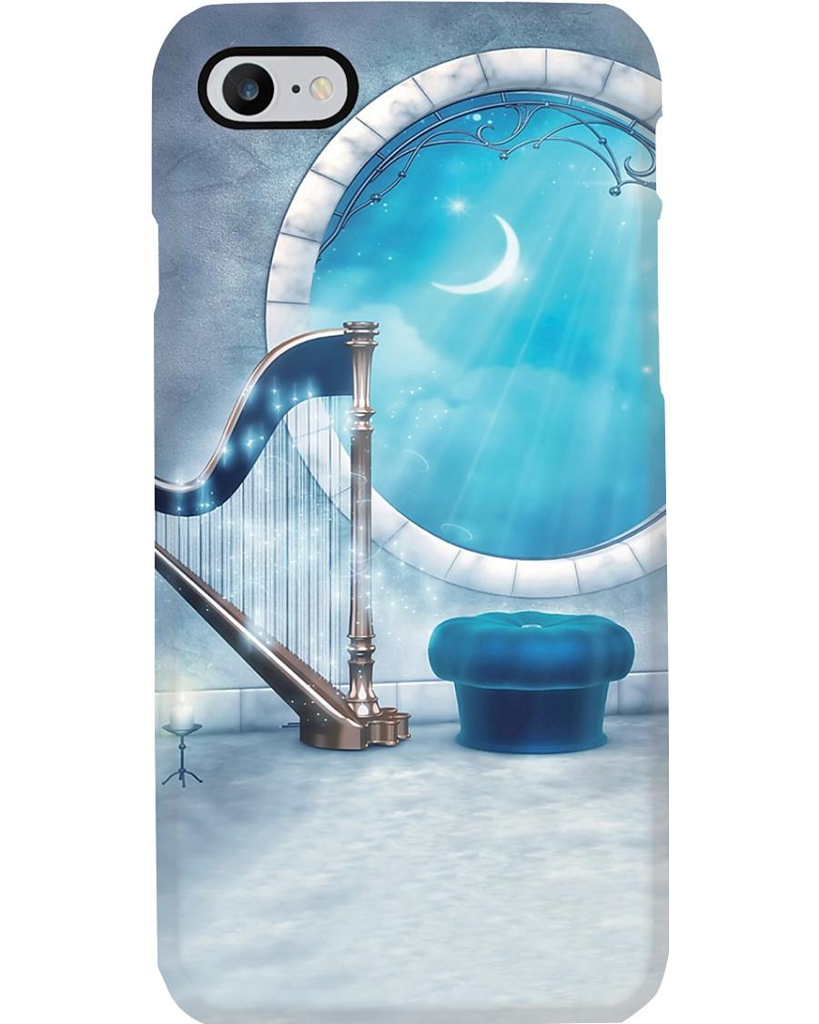 Harp Under Sky  Phone Case