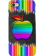 Teacher Rainbow Pencil Phone Case i-phone-7-case