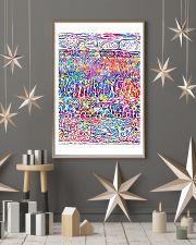Optometrist Retina Layers Watercolor Human Eye 24x36 Poster lifestyle-holiday-poster-1