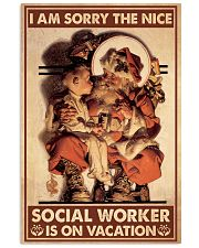 Social Worker I Am Sorry 11x17 Poster front
