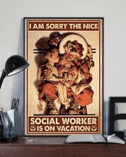Social Worker I Am Sorry 11x17 Poster lifestyle-poster-2