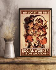 Social Worker I Am Sorry 11x17 Poster lifestyle-poster-3
