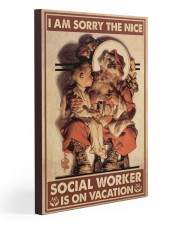 Social Worker I Am Sorry 20x30 Gallery Wrapped Canvas Prints thumbnail