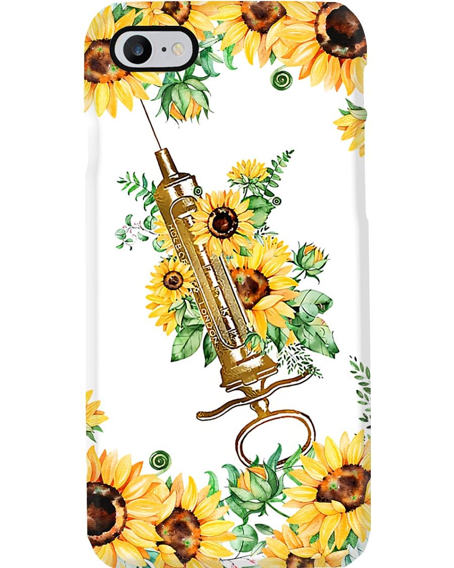 Surgical Technologist Sunflower Syringe  Phone Case