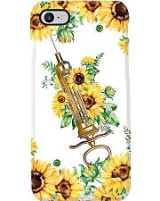 Surgical Technologist Sunflower Syringe  Phone Case i-phone-7-case