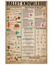 Ballet Knowledge 11x17 Poster front