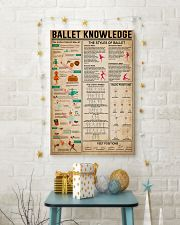 Ballet Knowledge 16x24 Poster lifestyle-holiday-poster-3