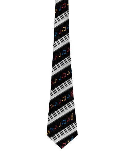 Piano Colorful Music Notes
