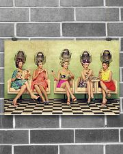 Hairdresser Vintage Ladies Doing Hair 17x11 Poster poster-landscape-17x11-lifestyle-18