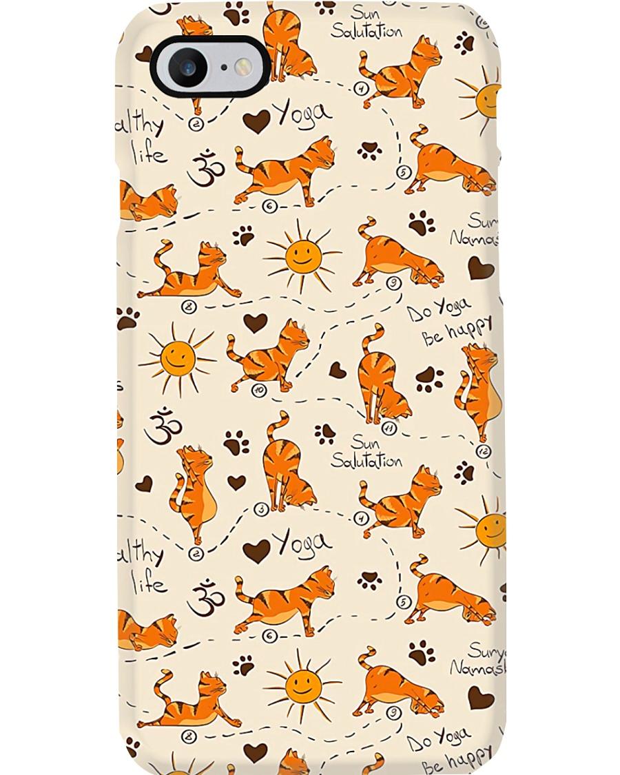 Yoga Cute Cat Phone Case