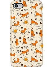 Yoga Cute Cat Phone Case i-phone-7-case