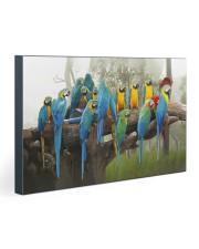 Blue Parrots 30x20 Gallery Wrapped Canvas Prints thumbnail