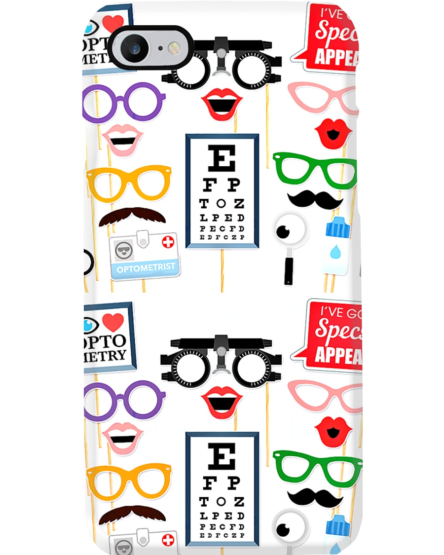 Optometrist Icons Phone Case