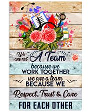 Phlebotomist We are a team 11x17 Poster front