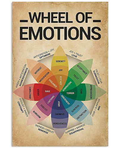 Social Worker Wheel Of Emotions