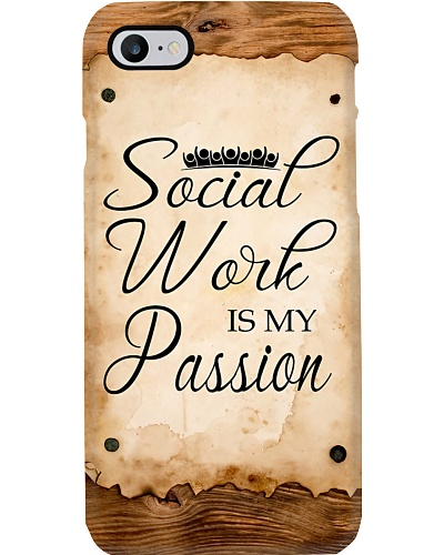 Social Worker Social work is my passion