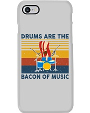 Drummer- Drums Are The Bacon Of Music Phone Case thumbnail