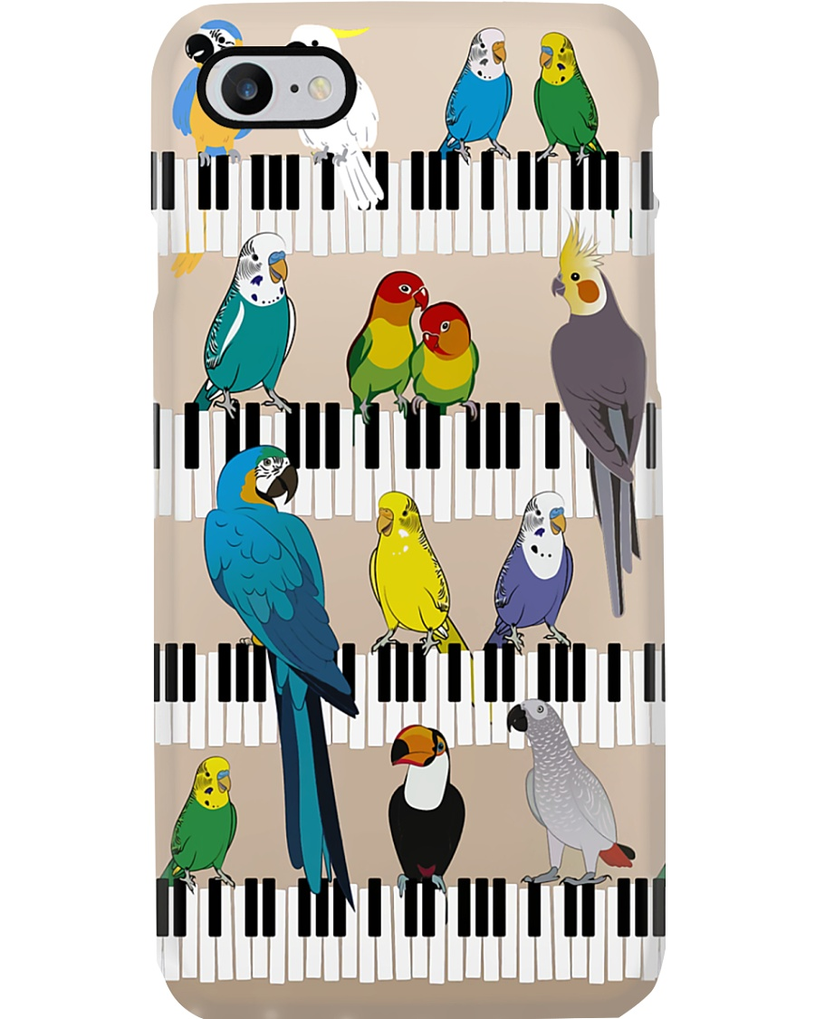 Parrot On The Piano Phone Case