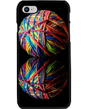 Crochet And Knitting - Shadow Phone Case i-phone-7-case