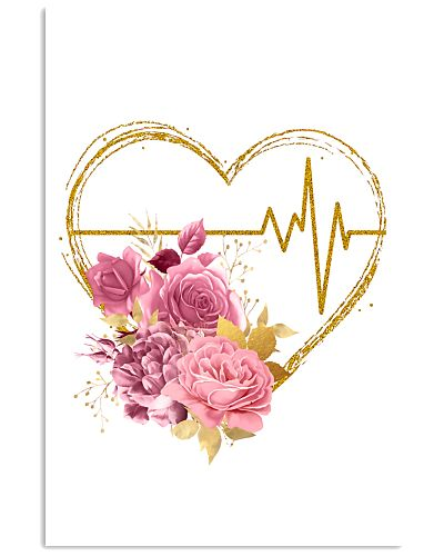 Cardiologists Gift Flowery Heartbeat