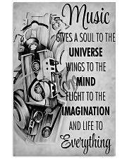 DJ Music gives a soul to the universe 11x17 Poster front