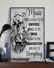 DJ Music gives a soul to the universe 11x17 Poster lifestyle-poster-2